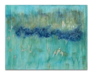 blue_Monday Pigment on Canvas 80x90