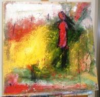 mixed media on canvas 50x50
